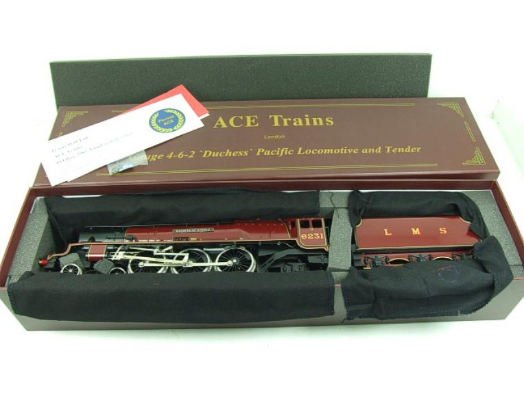 "Ace O Gauge E12D1 LMS Duchess Pacific ""Duchess of Atholl"" R/N 6231 Electric 2/3 Rail Bxd image 19"