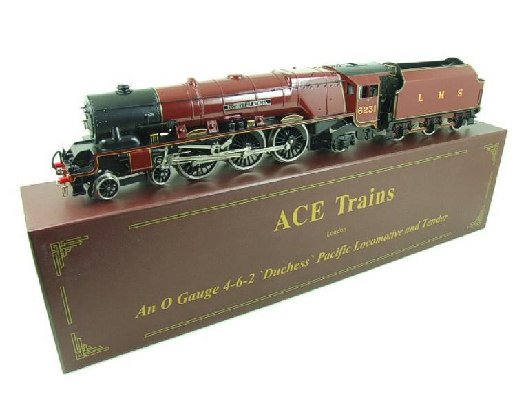 "Ace O Gauge E12D1 LMS Duchess Pacific ""Duchess of Atholl"" R/N 6231 Electric 2/3 Rail Bxd image 22"
