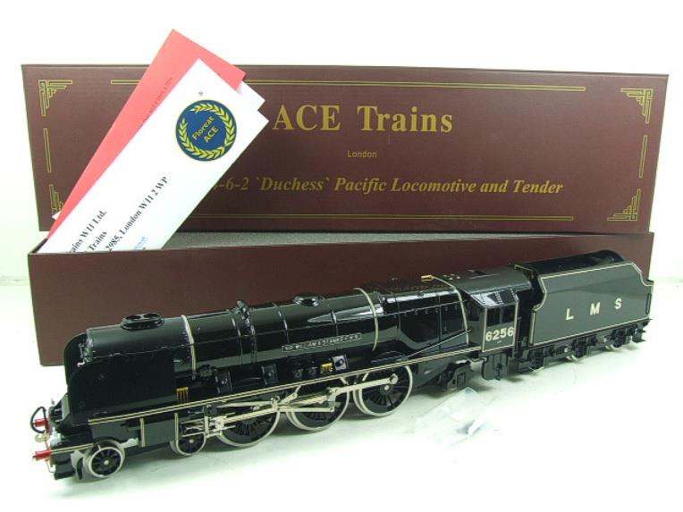 "Ace Trains O Gauge E12P LMS Duchess Pacific ""Sir William A Stanier FRS"" R/N 6256 Electric 2/3 Rail image 22"