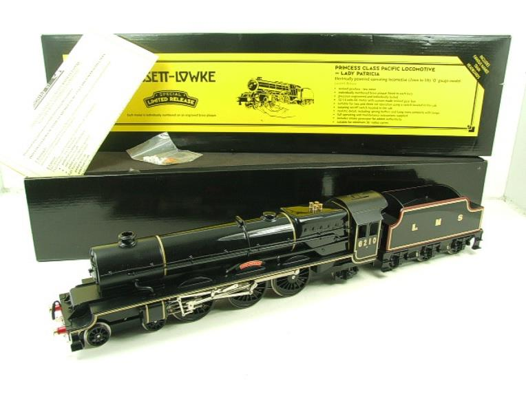 "Bassett Lowke O Gauge LMS Princess Class Pacific ""Lady Patricia"" R/N 6201 Electric 2/3 Rail Bxd image 21"