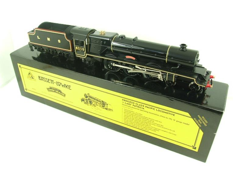 "Bassett Lowke O Gauge LMS Princess Class Pacific ""Lady Patricia"" R/N 6201 Electric 2/3 Rail Bxd image 22"
