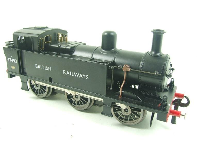 Darstaed O Gauge BR Unlined Black Class 3F Jinty Tank Loco R/N 47493 Bxd Electric 3 Rail image 11