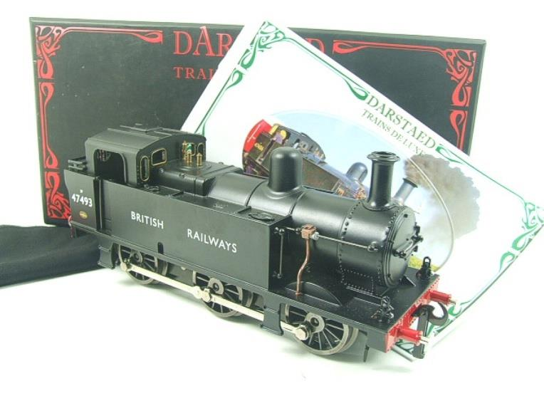 Darstaed O Gauge BR Unlined Black Class 3F Jinty Tank Loco R/N 47493 Bxd Electric 3 Rail image 15