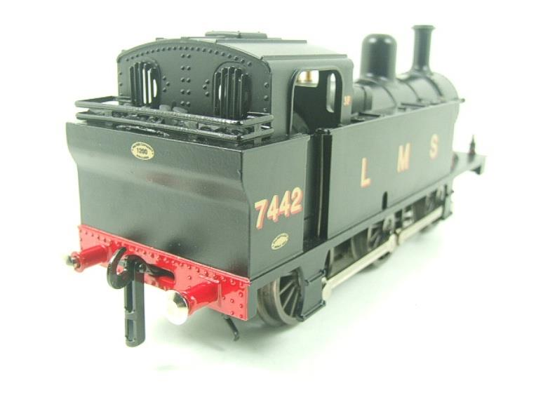 Darstaed O Gauge LMS Unlined Black Post War Class 3F Jinty Tank Loco R/N 7442 Bxd Electric 3 Rail image 11