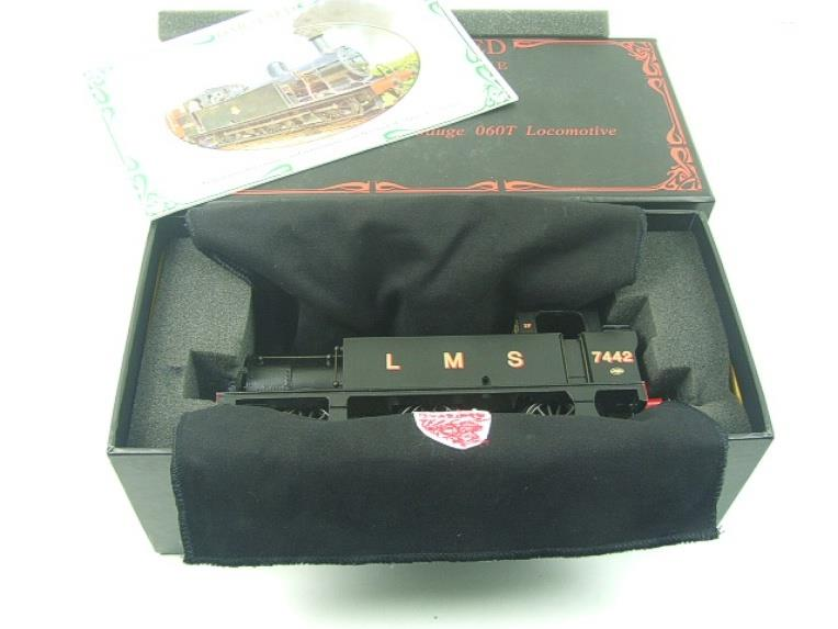 Darstaed O Gauge LMS Unlined Black Post War Class 3F Jinty Tank Loco R/N 7442 Bxd Electric 3 Rail image 13