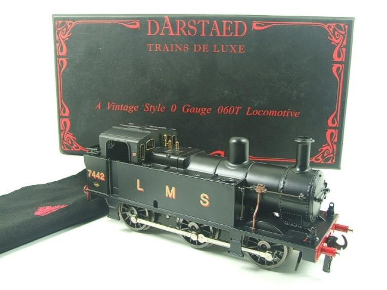 Darstaed O Gauge LMS Unlined Black Post War Class 3F Jinty Tank Loco R/N 7442 Bxd Electric 3 Rail image 15