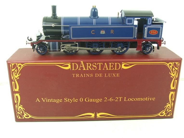 "Darstaed O Gauge CR ""Caledonian Railway"" Blue 2-6-2 Tank Loco R/N 950 Electric 3 Rail Boxed image 16"