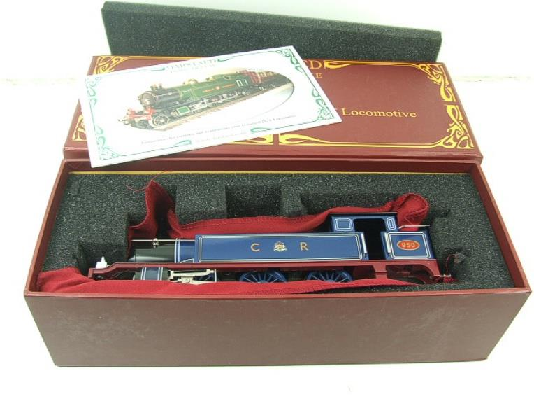 "Darstaed O Gauge CR ""Caledonian Railway"" Blue 2-6-2 Tank Loco R/N 950 Electric 3 Rail Boxed image 17"