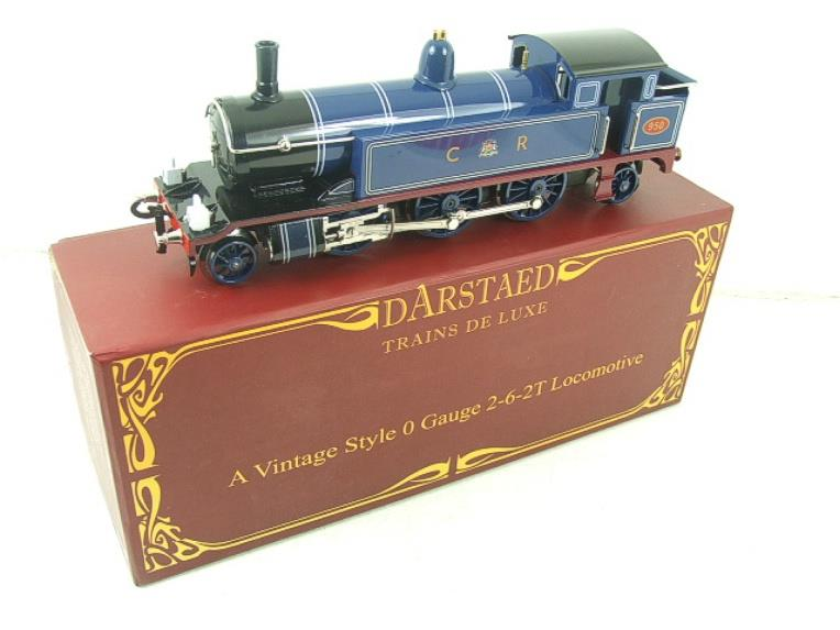 "Darstaed O Gauge CR ""Caledonian Railway"" Blue 2-6-2 Tank Loco R/N 950 Electric 3 Rail Boxed image 18"