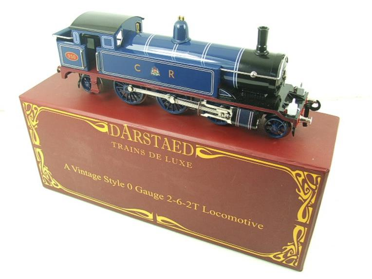 "Darstaed O Gauge CR ""Caledonian Railway"" Blue 2-6-2 Tank Loco R/N 950 Electric 3 Rail Boxed image 19"