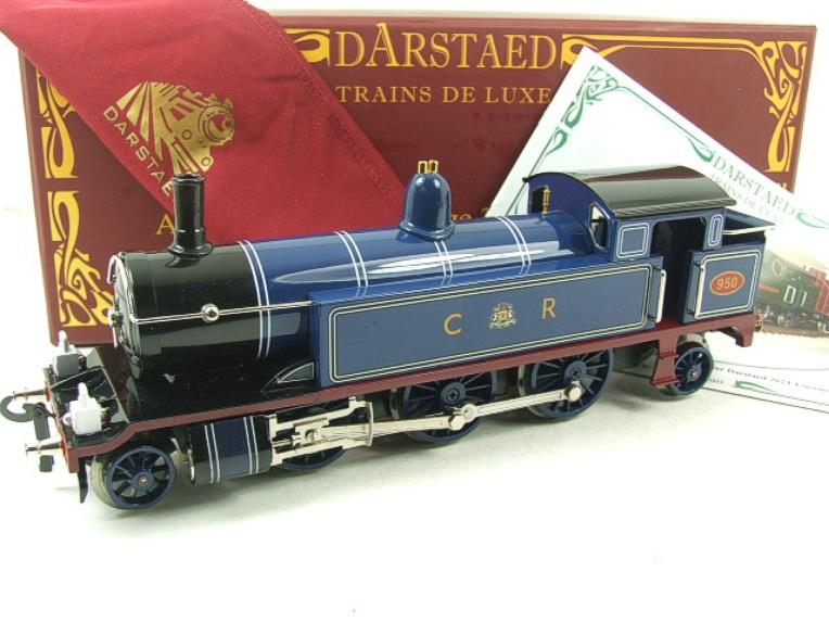 "Darstaed O Gauge CR ""Caledonian Railway"" Blue 2-6-2 Tank Loco R/N 950 Electric 3 Rail Boxed image 20"
