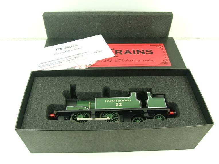 Ace Trains O Gauge E24B Southern Maunsell Green M7 Tank Loco 0-4-4 R/N 52 Electric 2/3 Rail Boxed image 16
