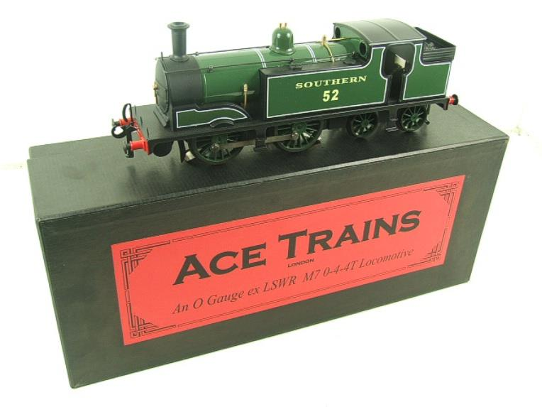 Ace Trains O Gauge E24B Southern Maunsell Green M7 Tank Loco 0-4-4 R/N 52 Electric 2/3 Rail Boxed image 20