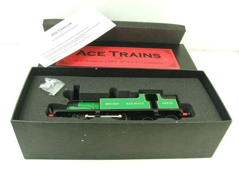 Ace Trains O Gauge E24E M7 Class British Railways Malachite Green Tank Loco R/N 30328 Elec 2/3 Rail image 16