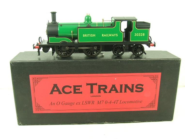 Ace Trains O Gauge E24E M7 Class British Railways Malachite Green Tank Loco R/N 30328 Elec 2/3 Rail image 19