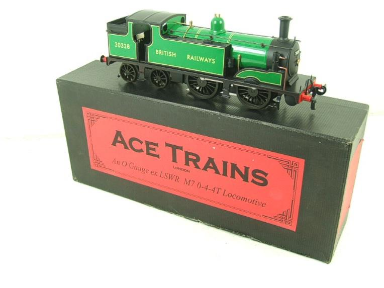 Ace Trains O Gauge E24E M7 Class British Railways Malachite Green Tank Loco R/N 30328 Elec 2/3 Rail image 20