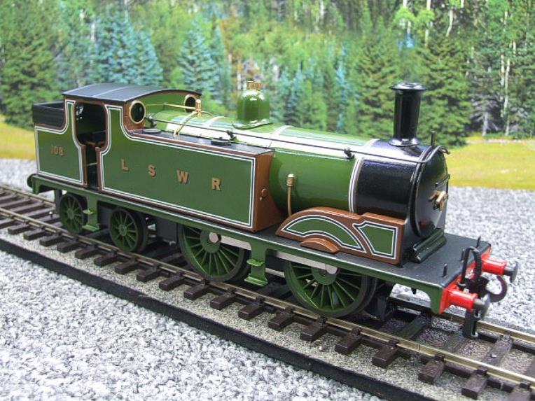 Ace Trains O Gauge E24A M7 Class LSWR Green Tank Loco 0-4-4 R/N 108 Electric 2/3 Rail Boxed image 16