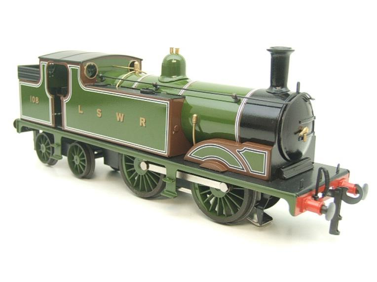 Ace Trains O Gauge E24A M7 Class LSWR Green Tank Loco 0-4-4 R/N 108 Electric 2/3 Rail Boxed image 18
