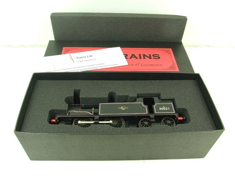 Ace Trains O Gauge E24H Post 56 BR Gloss Black M7 Tank Loco R/N 30021 Electric 2/3 Rail Bxd image 15