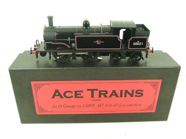 Ace Trains O Gauge E24H Post 56 BR Gloss Black M7 Tank Loco R/N 30021 Electric 2/3 Rail Bxd image 18