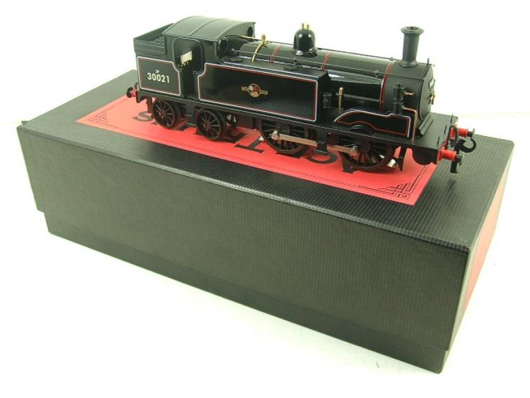 Ace Trains O Gauge E24H Post 56 BR Gloss Black M7 Tank Loco R/N 30021 Electric 2/3 Rail Bxd image 19