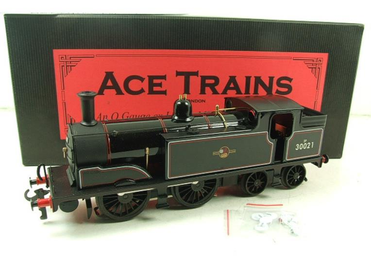 Ace Trains O Gauge E24H Post 56 BR Gloss Black M7 Tank Loco R/N 30021 Electric 2/3 Rail Bxd image 20