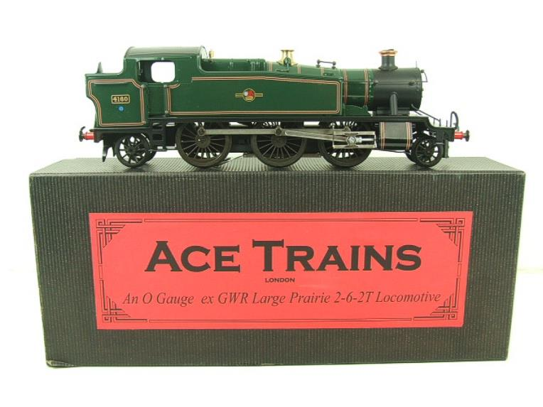 Ace Trains O Gauge E29G BR Gloss Green 2-6-2 Prairie Tank Loco R/N 4160 Electric 2/3 Rail Bxd image 20