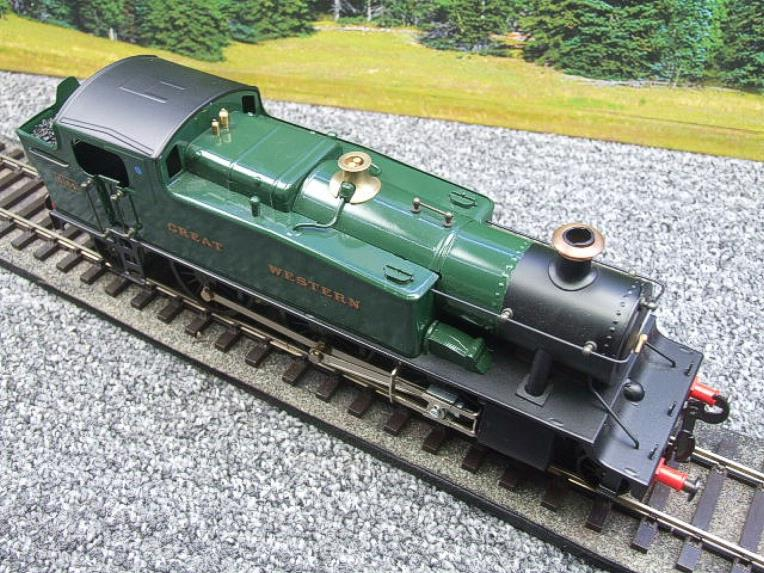 "Ace Trains O Gauge E29A GW ""Great Western"" Green 2-6-2 Prairie Tank Loco R/N 5164 Electric 2/3 Rail image 15"