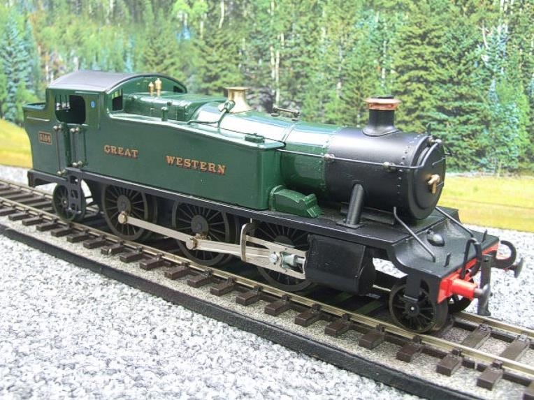 "Ace Trains O Gauge E29A GW ""Great Western"" Green 2-6-2 Prairie Tank Loco R/N 5164 Electric 2/3 Rail image 20"