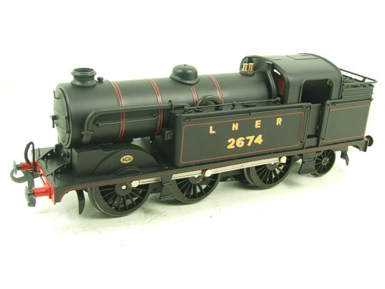 Ace Trains O Gauge E11 LNER Satin Black N2 Class 0-6-2 Tank Loco R/N 2674 Electric 2/3 Rail Boxed image 11