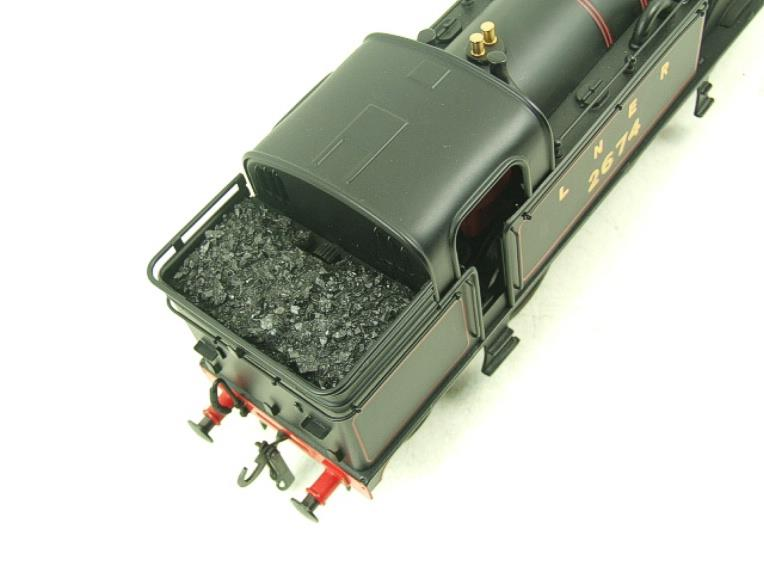 Ace Trains O Gauge E11 LNER Satin Black N2 Class 0-6-2 Tank Loco R/N 2674 Electric 2/3 Rail Boxed image 12