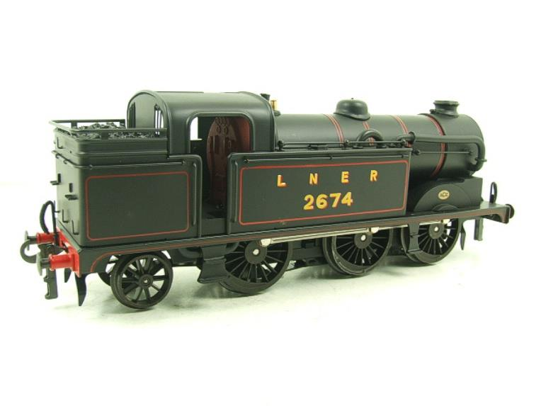 Ace Trains O Gauge E11 LNER Satin Black N2 Class 0-6-2 Tank Loco R/N 2674 Electric 2/3 Rail Boxed image 14
