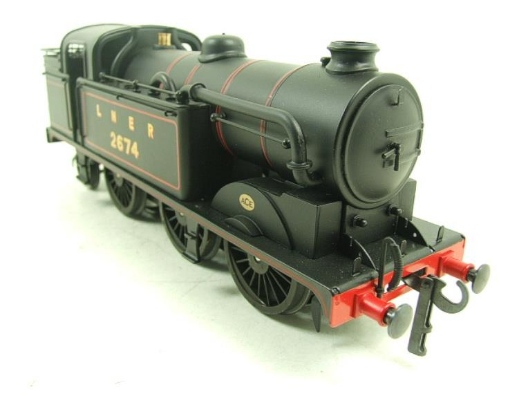 Ace Trains O Gauge E11 LNER Satin Black N2 Class 0-6-2 Tank Loco R/N 2674 Electric 2/3 Rail Boxed image 15