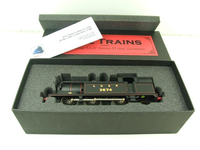 Ace Trains O Gauge E11 LNER Satin Black N2 Class 0-6-2 Tank Loco R/N 2674 Electric 2/3 Rail Boxed image 16