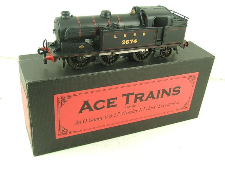 Ace Trains O Gauge E11 LNER Satin Black N2 Class 0-6-2 Tank Loco R/N 2674 Electric 2/3 Rail Boxed image 19