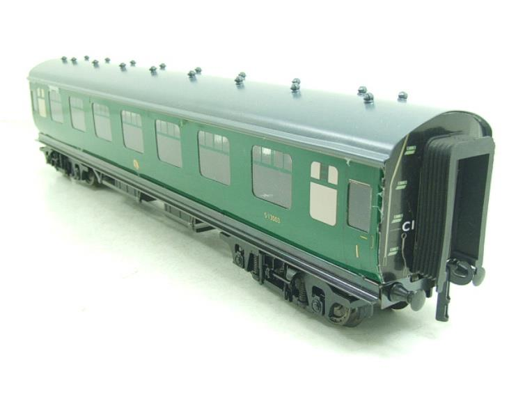 Ace Trains O Gauge C13 BR MK1 SR Southern Green Coaches x3 Set A Boxed 2/3 Rail image 12