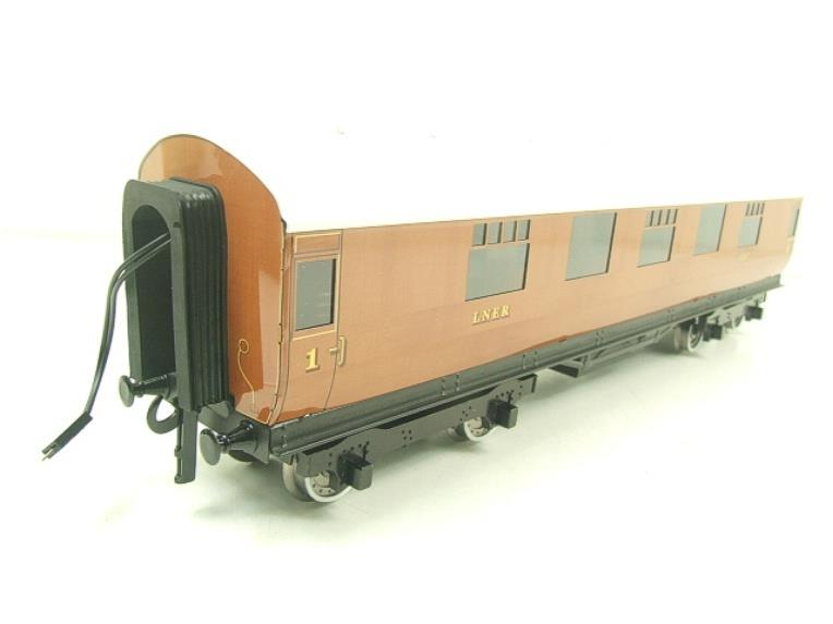 Darstaed O Gauge LNER Thompson Corridor Coaches x3 Set 2/3 Rail Boxed Set A image 11