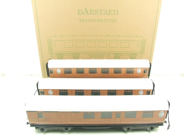 Darstaed O Gauge LNER Thompson Corridor Coaches x3 Set 2/3 Rail Boxed Set A image 12