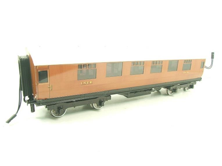 Darstaed O Gauge LNER Thompson Corridor Coaches x3 Set 2/3 Rail Boxed Set A image 13