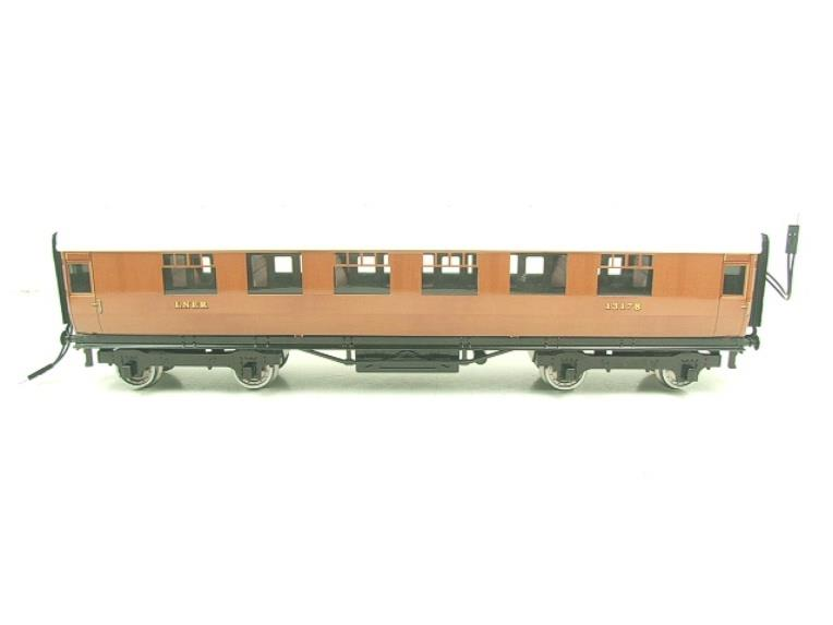 Darstaed O Gauge LNER Thompson Corridor Coaches x3 Set 2/3 Rail Boxed Set A image 14