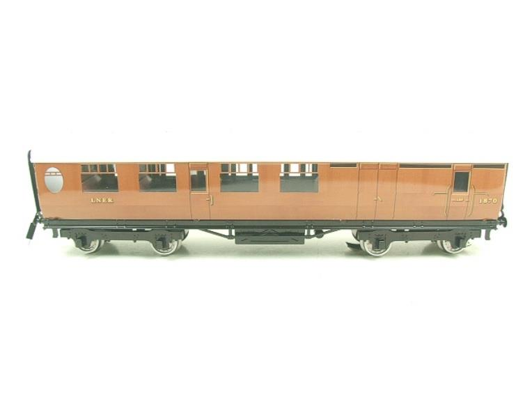 Darstaed O Gauge LNER Thompson Corridor Coaches x3 Set 2/3 Rail Boxed Set A image 16