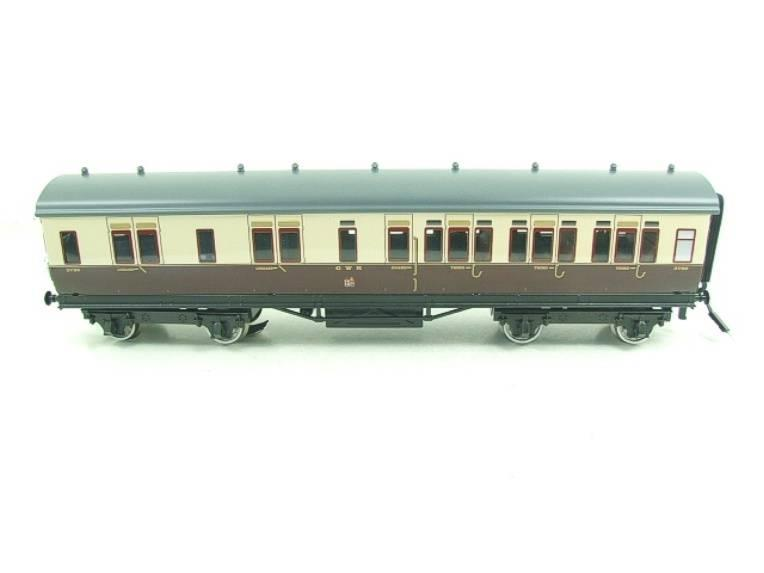 Darstaed O Gauge GWR Corridor Coaches x3 Set 2/3 Rail Bxd Set A image 11