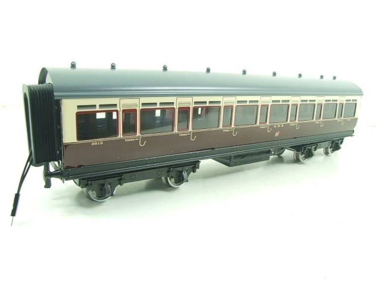 Darstaed O Gauge GWR Corridor Coaches x3 Set 2/3 Rail Bxd Set A image 15