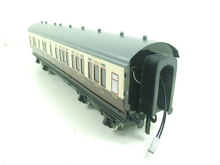 Darstaed O Gauge GWR Corridor Coaches x3 Set 2/3 Rail Bxd Set A image 16