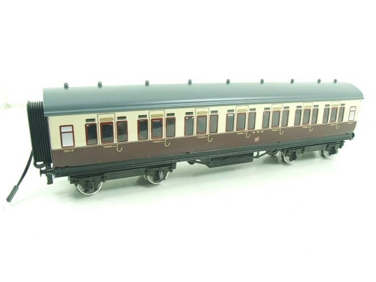 Darstaed O Gauge GWR Corridor Coaches x3 Set 2/3 Rail Bxd Set A image 17