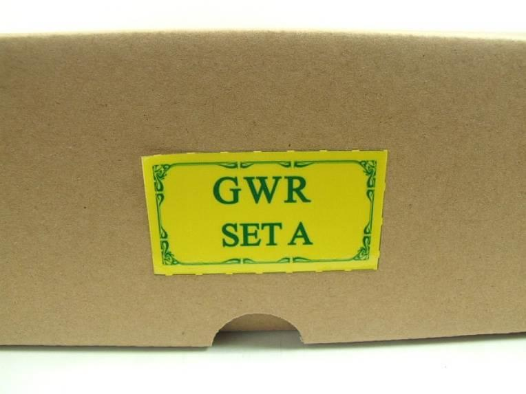 Darstaed O Gauge GWR Corridor Coaches x3 Set 2/3 Rail Bxd Set A image 19