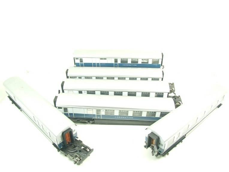 "Ace Trains O Gauge C7 LNER ""Record Breaking Set"" Articulated x6 Coaches Coronation Set 3 Rail image 12"