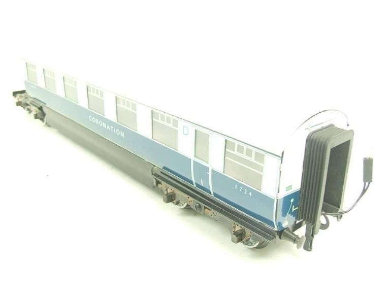 "Ace Trains O Gauge C7 LNER ""Record Breaking Set"" Articulated x6 Coaches Coronation Set 3 Rail image 15"