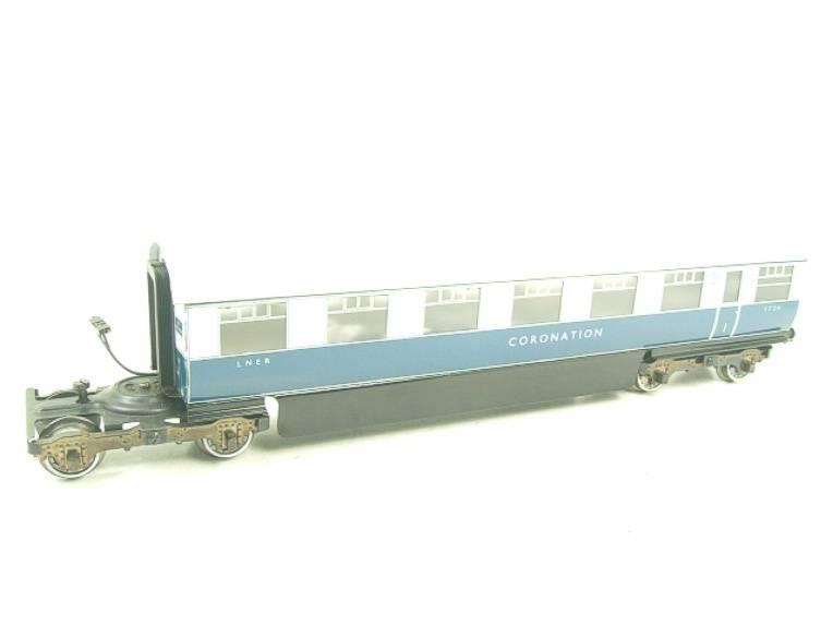 "Ace Trains O Gauge C7 LNER ""Record Breaking Set"" Articulated x6 Coaches Coronation Set 3 Rail image 16"