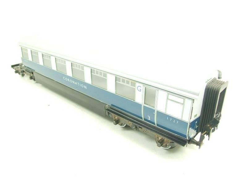 "Ace Trains O Gauge C7 LNER ""Record Breaking Set"" Articulated x6 Coaches Coronation Set 3 Rail image 17"